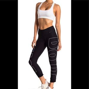 "New Nike Dri Fit ""Just Do It"" active pant Sz L"